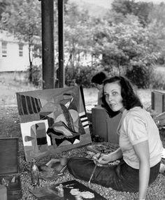 Cora Kelley Ward, circa 1949 In the Spirit of Black Mountain College, an Avant-Garde Incubator - NYTimes.com