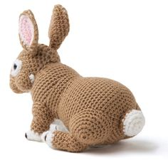 Crochet Rabbit pattern in Enchanted Forest Animals to crochet