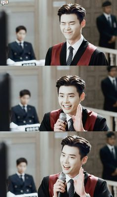 Lee jong suk ❤❤ while you were sleeping drama ^^ Lee Jong Suk Cute, Lee Jung Suk, Lee Seung Gi, Lee Jong Suk Wallpaper, Kang Chul, Moorim School, K Drama, Lee Young, Han Hyo Joo