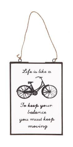 Bike Window hanging