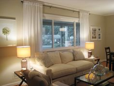 1000 Ideas About Picture Window Curtains On Pinterest