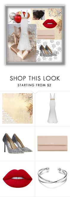 """""""Untitled #118"""" by mmevp ❤ liked on Polyvore featuring Kaisercraft, Frontgate, Jovani, Jimmy Choo, Bally and Lime Crime"""