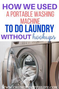 No laundry hookups?