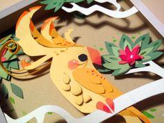 brittney lee paper art - Google Search