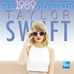 Register to win tickets to see Taylor Swift's '1989 World Tour'