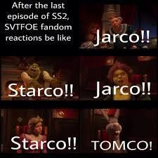 I'M ALL FOR THE LAST ONE<< I'm a starco shipper but i secretly ship timco?