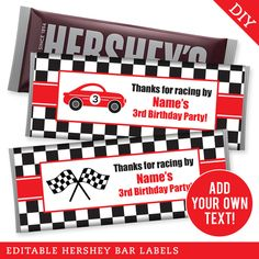 Paper goods and DIY printables for parties and holidays 3rd Birthday Parties, Car Birthday, Birthday Ideas, Ducati Motorcycle, Motorcycle Gloves, Motorcycle Garage, Racing Motorcycles, Racing Cake, Race Writing