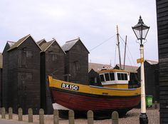 The irrepressible rise of the black house – a journey through Britain's finest - The Chromologist Hastings Beach, Sea Photography, East Sussex, Black House, Fishing Boats, Geo, Britain, Coastal, Journey