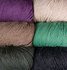 Full Circle Worsted Yarn- a limited edition yarn from Knit Picks made of recycled fibers!
