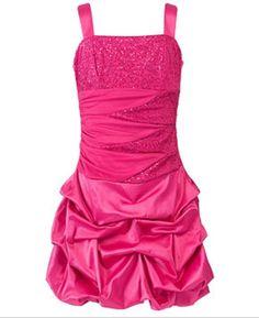 Pink glittery dress