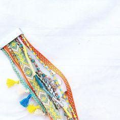 Colors of the day... J'adore les explosions de couleurs, les accumulations de bracelets...☀️