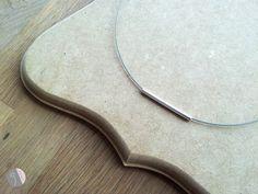 Silberschmuck - minimalistische Halskette - ein Designerstück von disugro bei DaWanda