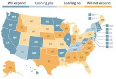 Daily Kos: Red states rejecting Obamacare Medicaid expansion need it most