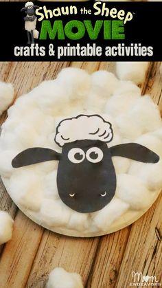 Shaun The Sheep Movie Crafts & Activities!  @shaunthesheepus [sponsored]