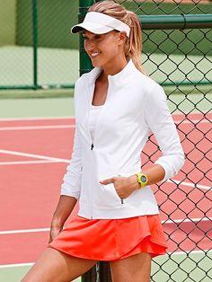 Athleta Bustle Skort   Cute Tennis Clothes @ http://www.FitnessApparelExpress.com