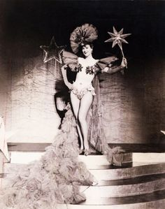 Gypsy Rose Lee burlesque dancer 1930's
