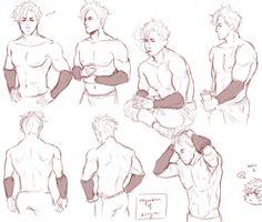 Male torso reference by Sellenin on DeviantArt Male torso referen. Drawing Base, Guy Drawing, Character Drawing, Drawing Muscles, Drawing Poses Male, Drawing Tips, Anatomy Sketches, Art Sketches, Art Drawings