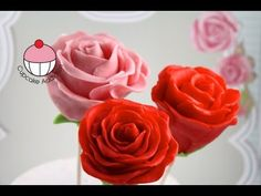 Mothers Day Rose Flower Cakepops - Yoyomax12 and MyCupcakeAddiction Cake Pop Collaboration! - YouTube