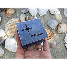 Music box, custom made music box, compass, compass rose, nautical gift, handmade music box, personalized gift, personalized music box, simplycoolgifts