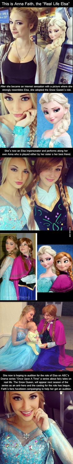 Meet The real life version of Elsa.