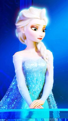 I love Frozen. But her dress was just a touch too sexy for my taste.