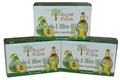 Amazing Avocado & Olive Oil Soap - For silky smooth skin. Show your skin some love!