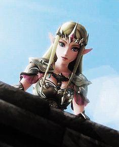 The Legend of Zelda series and Hyrule Warriors, Princess Zelda and Link