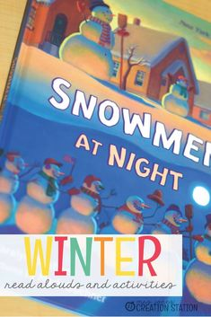 This winter, use these fun and festive books to read aloud to your kids! These books are perfect to read aloud and let your kids listen in the classroom or at home. Your kids will love these fun stories. Winter Activities For Kids, Winter Crafts For Kids, Winter Fun, Winter Theme, Christmas Activities, Kindergarten Activities, Learning Activities, Homeschooling Resources, Toddler Learning