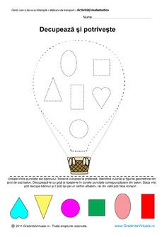 Pin on Iepurași Preschool Worksheets, Toddler Activities, Geometric Shapes, Coloring Pages, Kindergarten, Projects To Try, Playing Cards, Let It Be, Education