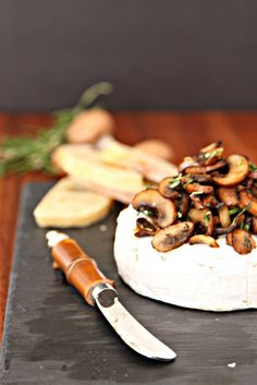Savory Baked Brie wi