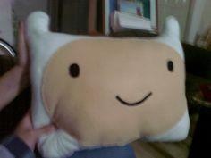 Finn+(Adventure+Time)+Pillow++•++Sew+an+applique+cushion+in+under+180+minutes