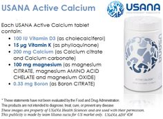 ‪ Active Calcium is a complete ‪ ‪ formula with… Calcium Citrate, Calcium Magnesium, Calcium Carbonate, Stronger Teeth, Vitamin K, Bone Health, Nutritional Supplements, Healthy Nutrition, Amino Acids