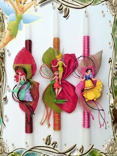 Πασχαλινές λαμπάδες Disney Princess