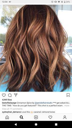 Love this color – Auburn Hair Styles Hair Color And Cut, Brown Hair Colors, Hair Inspo, Hair Inspiration, Honey Hair, Hair Affair, Brunette Hair, Up Girl, Great Hair