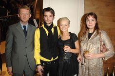 Cast of Primeval! Left to right: Douglas Henshall, Andrew-Lee Potts, Hannah Spearritt, and Lucy Brown.