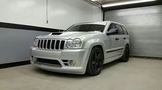 Tastefully Modified Custom Touches Throughout Garage Kept No Accidents Grand Cherokee Srt8, Jeep Cherokee, Srt8 Jeep, Mopar, Jeep Wk, Chrysler 300 Srt8, Hot Rides, Jeep Life, Dream Cars
