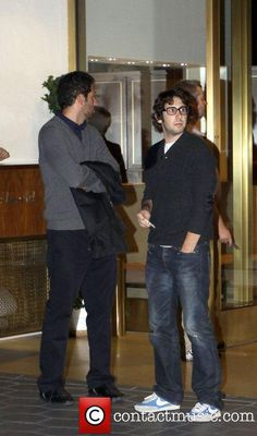 Josh Groban at Sunset Towers Hotel in West...
