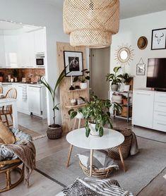 New Stylish Bohemian Home Decor Ideas Boho Chic Interior, Bohemian Bedroom Design, Apartment Therapy, Apartment Living, Boho Living Room, Living Room Decor, Interior Exterior, Interior Design, Decor Inspiration
