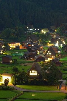 Rural town. #japan I think these small houses would be perfect in the new system! Very cute!