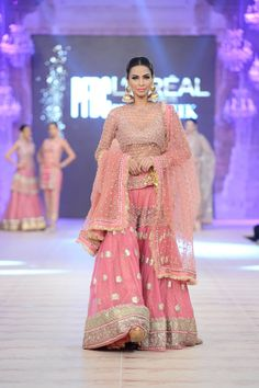 Karma Red Bridal Collection at PFDC L'Oréal 2014