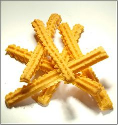 Spicy Cheese Straws Recipe