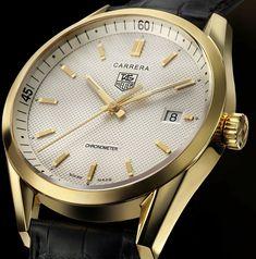 TAG Heuer Carrera Gold Chronometre
