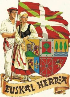 I am a descendant if Basque Country. Both Spain & France. Spanish Heritage, My Heritage, Pays Basque France, Guggenheim Bilbao, European Languages, Biarritz, Basque Country, Spain And Portugal, Vintage Travel Posters