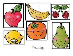 Preschool Printables: Fruit