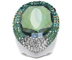Statement #gift for fashionistas: #Swarovski Hyacinth Green Ring
