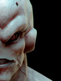 This a VERY real looking and scary Majin Buu. DBZ dragon Ball Z