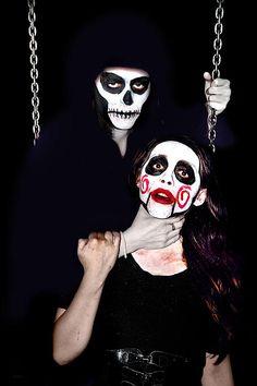 Death's grip by Miroslava Jurcik Macabre, Scary, Horror, Halloween Face Makeup, Death, Wall Art, Monsters, Nice, Im Scared