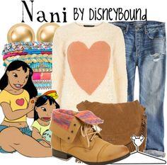 Disney Bound - Nani