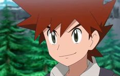 Gary Oak, Green Pokemon, Digimon, Sonic The Hedgehog, Fictional Characters, Design, I Love, Fantasy Characters
