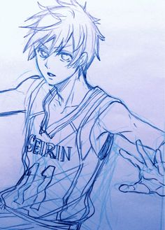 ~Kuroko sketch by Yana Toboso [Kuroshisuji's creator] on her blog~